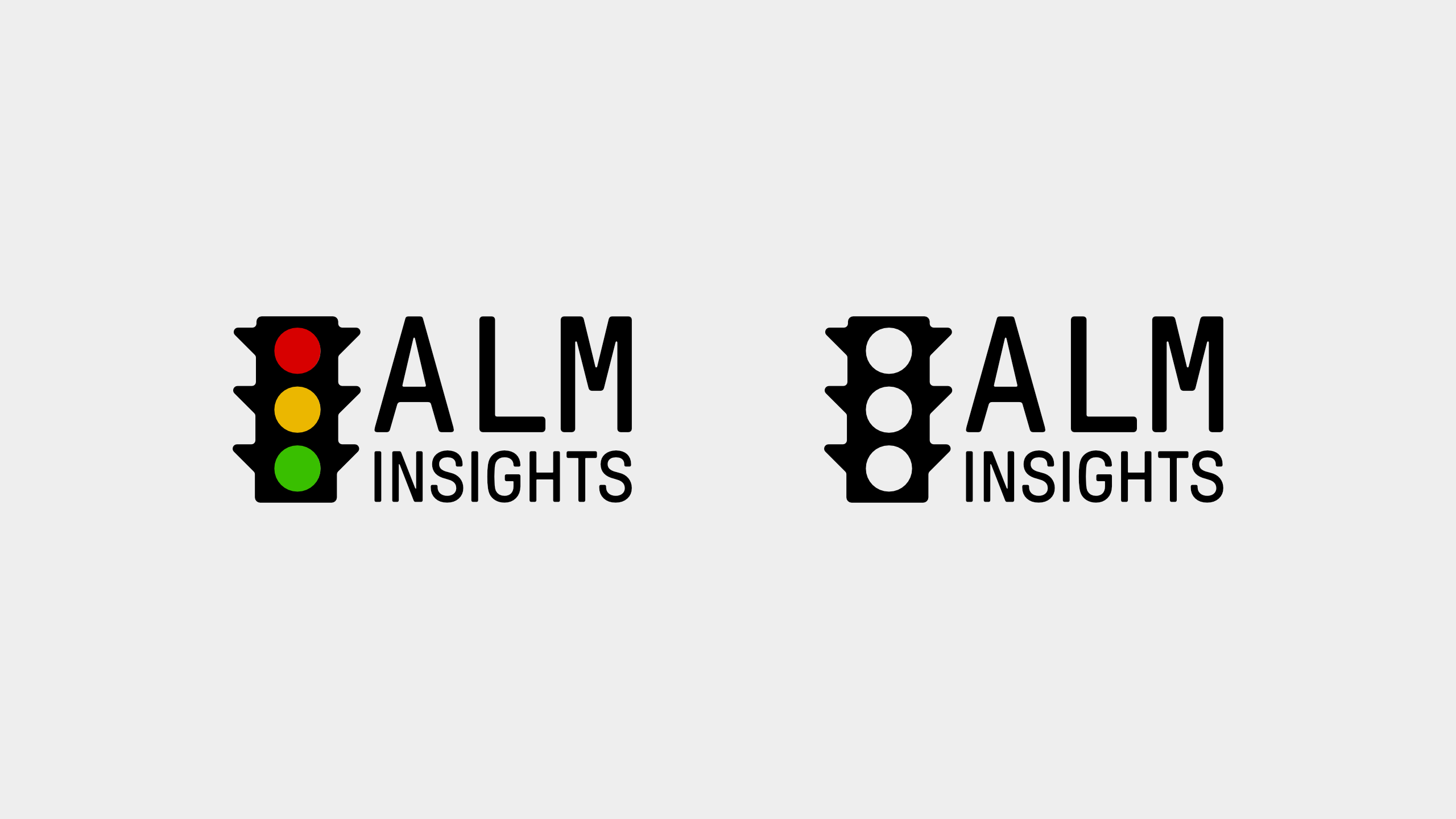 Logo Drafts for ALM Insights